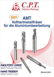 CPT AMT Vollhartmetallfräser für ALU