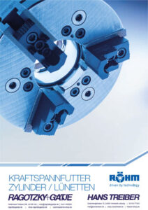 Röhm Kraftspannfutter Zylinder/Lünetten