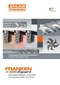 Franken HM-Fräser Cut&Form