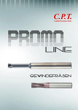 Flyer CPT Promoline - Gewindefräser