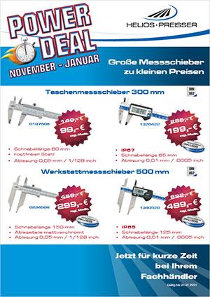 Helios Preisser Power Deal - Große Messschieber